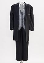 黒フロックコート K170cm