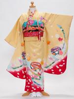 7歳の正絹の振袖