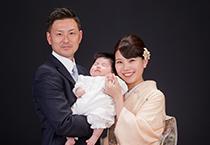 核家族集合のアップ