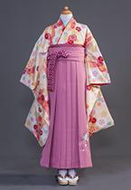 140cmから150cmの女児卒業袴