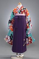 小学校卒業用ジュニアサイズ女児袴